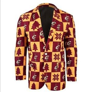 New -NBA Cleveland Cavaliers Men's Patches Jacket